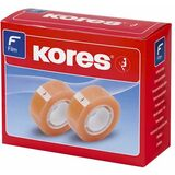 Kores klebefilm Standard, 15 mm x 10 m, transparent