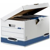 Fellowes bankers BOX system Archiv-Klappdeckelbox Maxi, blau