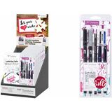 "Tombow handlettering-set ""beginner"", 6er set im 10er Display"