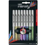 BIC permant-marker Intensity Metallic, 3er Blister, sortiert