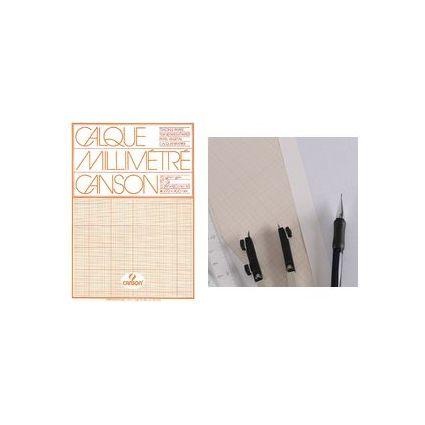 canson millimeterpapier block din a4 hochtransparent c200017145 bei g nstig. Black Bedroom Furniture Sets. Home Design Ideas