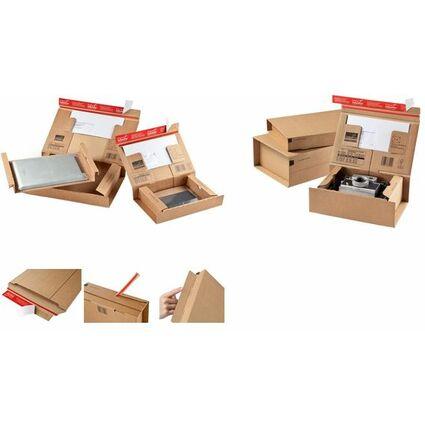 colompac paket versandkarton post gr e sl braun cp bei g nstig kaufen. Black Bedroom Furniture Sets. Home Design Ideas