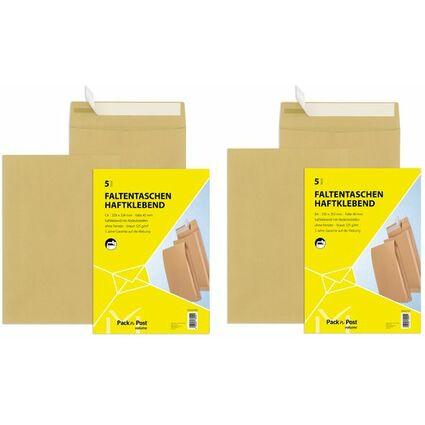 mailmedia faltenversandtasche mit haftklebestreifen b4 39005 7 bei g nstig kaufen. Black Bedroom Furniture Sets. Home Design Ideas