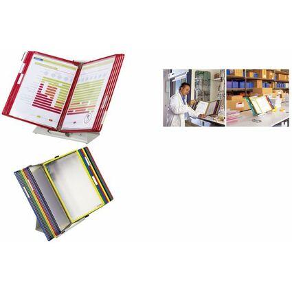 tarifold Tischständer Metall, inkl. 10 Sichttafeln