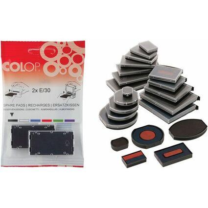 Doppelpack schwarz COLOP Ersatzstempelkissen E//10