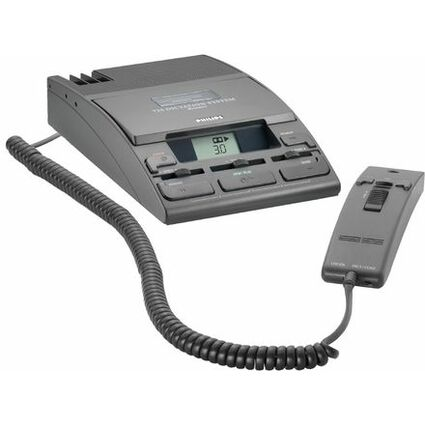 PHILIPS Schreibtisch-Diktiersystem LFH0725