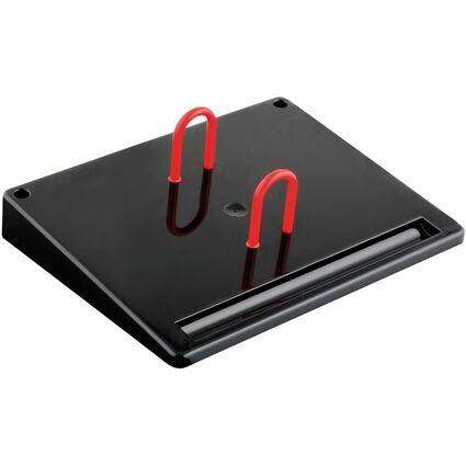 Wonday Kalenderuntersatz, aus Kunststoff, schwarz