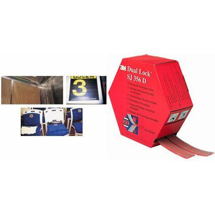 3M Dual Lock Flexibler Druckverschluss, Spenderbox, schwarz