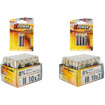 "ANSMANN Alkaline Batterie ""X-Power"", Micro AAA, 2er Blister"