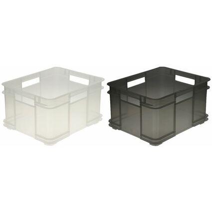 ok aufbewahrungsbox euro box xl 28 liter natur 1545300100000 bei g nstig kaufen. Black Bedroom Furniture Sets. Home Design Ideas
