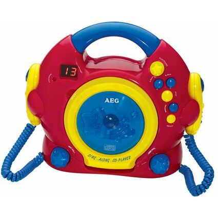 "AEG Tragbarer CD-Player CDK 4229 ""Sing Along"" - für Kinder"