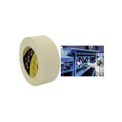 3M Krepp-Klebeband 301E, 36 mm x 50 m, Papier, beige