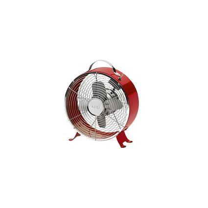 AEG Tisch-Ventilator VL 5617 M, Durchmesser: 260 mm, rot