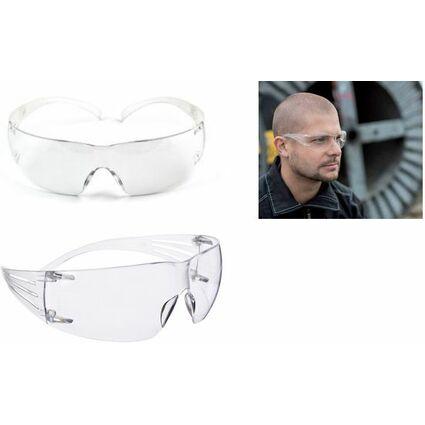 3M Schutzbrille SecureFit SF202AF, grau-transparent