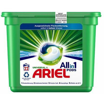 ARIEL 3in1 PODS Waschmittel REGULÄR, 22 WL