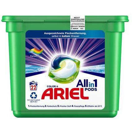 ARIEL 3in1 PODS Waschmittel COLOUR & STYLE, 24 WL