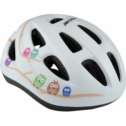 fischer kinder fahrrad helm eule gr e xs s 86106 bei. Black Bedroom Furniture Sets. Home Design Ideas
