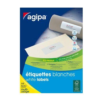 agipa Adress-Etiketten, 210 x 148,5 mm, weiß