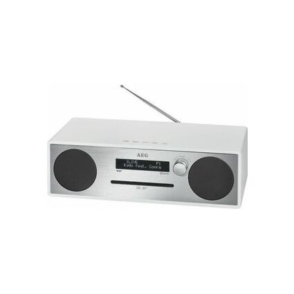 AEG Stereo Music-Center MC 4469, silber/weiß