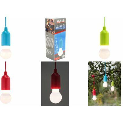 "ANSMANN HyCell LED-Leselampe ""Pull-Light PL1W"", blau"