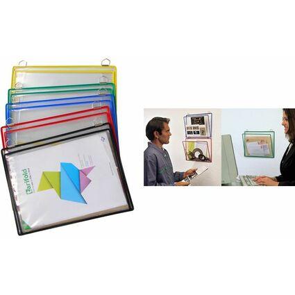 tarifold Ablagemappe mit Öse, DIN A4, farbig sortiert