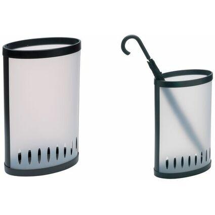 ALBA Schirmständer, Kunststoff, oval
