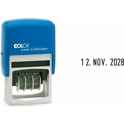 COLOP Datumstempel Printer S220, blau