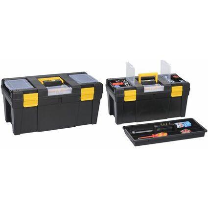 allit Werkzeugkoffer McPlus Promo 23, PP, schwarz/gelb