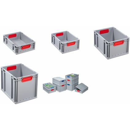 allit Verschluss-Set ProfiPlus EuroBox 4S, rot, 4er Set