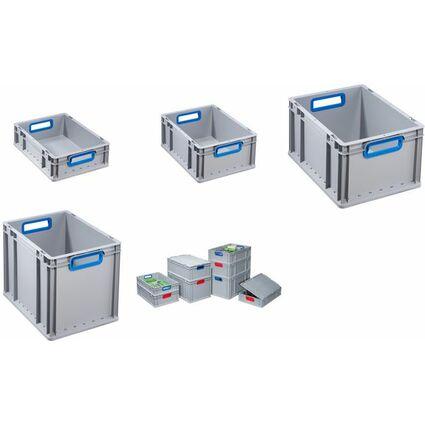 allit Verschluss-Set ProfiPlus EuroBox 4S, blau, 4er Set