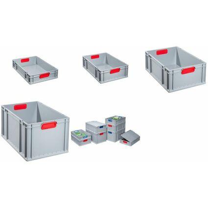 allit Verschluss-Set ProfiPlus EuroBox 4S, grau/rot
