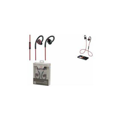 AEG Bluetooth In-Ear Headset KH 4232, schwarz/rot