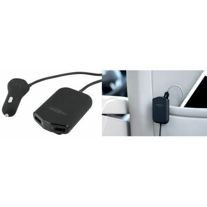 """ANSMANN USB-KFZ-Ladegerät """"In Car Charger 496"""", 2 x 2 USB"""