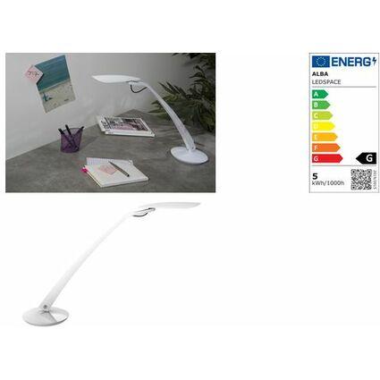 """ALBA LED-Tischleuchte """"LEDSPACE"""", weiß"""