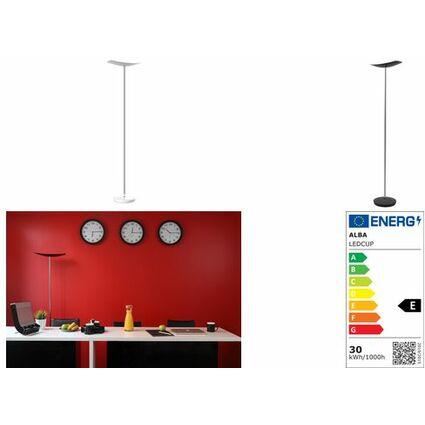 ALBA LED-Stehleuchte LEDCUP N, schwarz