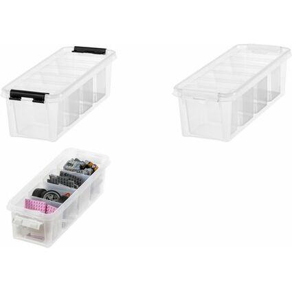 4455b8a41c4fc9 SmartStore Aufbewahrungsbox CLASSIC 4, 3,5 Liter mit Einsatz 3458010 ...