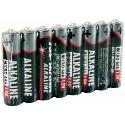 ANSMANN Alkaline Batterie, Micro AAA, 8er Pack