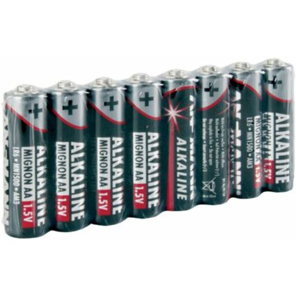 ANSMANN Alkaline Batterie, Mignon AA, 8er Pack