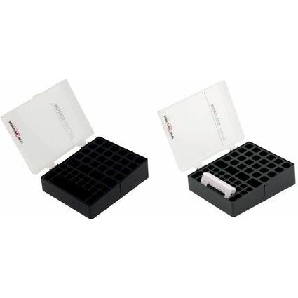 ANSMANN Aufbewahrungsbox für Akkus, für  6x 9V Block