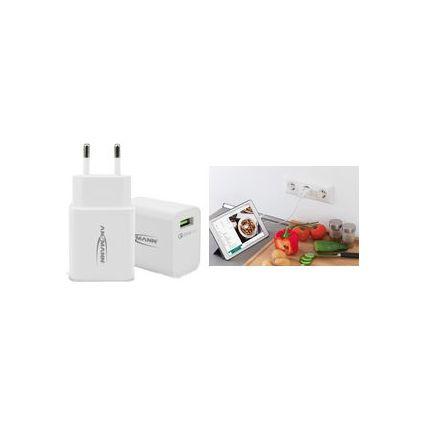 "ANSMANN USB-Ladegerät ""Home Charger 130Q"", 1x USB-Kupplung"