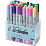 COPIC marker ciao, 36er set A