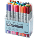 COPIC marker ciao, 36er set B