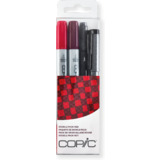 "COPIC marker ciao, 4er set ""Doodle pack Red"""