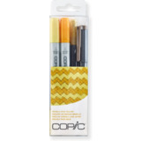 "COPIC marker ciao, 4er set ""Doodle pack Yellow"""