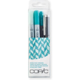 "COPIC marker ciao, 4er set ""Doodle pack Turquoise"""