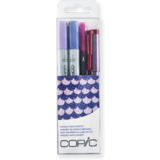 "COPIC marker ciao, 4er set ""Doodle pack Purple"""