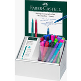 FABER-CASTELL fineliner BROADPEN 1554, im 30er Display