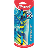 Maped vierfarb-kugelschreiber Twin tip COSMIC TEENS, blau