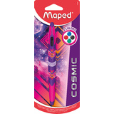 Maped vierfarb-kugelschreiber Twin tip COSMIC TEENS, pink