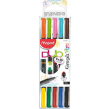 Maped fineliner Graph'Peps DUO, 5er etui = 10 Farben